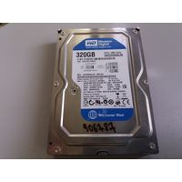 Жесткий диск IDE 320Gb WD WD3200AAJB (906787)