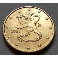 10 евроцентов, Финляндия 2001 г.