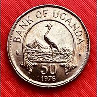 14-01 Уганда, 50 центов 1976 г.