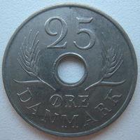 Дания 25 эре 1968 г.