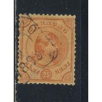 NL Колонии Кюрасао (Нидерландские Антиллы) 1892 Вильгельма Стандарт #28
