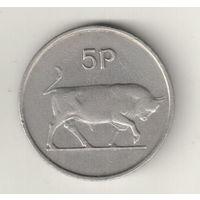 Ирландия 5 пенс 1974