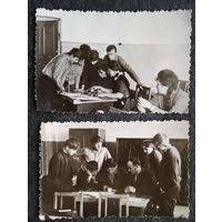 Школьные будни. Фото 1950-60х. 8х12 см. Цена за 2 фото