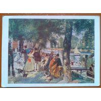Ренуар Огюст. Купание на Сене.    1956 г.