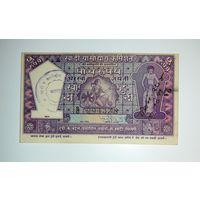 Старый чек Индия 5 рупий
