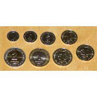 Туркменистан 2009-2010 компл. 8 монет UNC