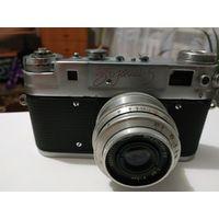 Фотоаппарат зоркий 5 красный
