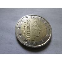 2 евро, Люксембург 2004 г.