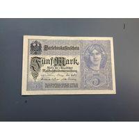 Германия  5 марок 1917