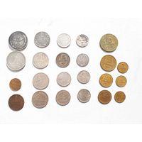 Лот монет СССР 23 шт. без м.ц.