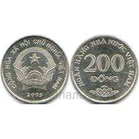 Вьетнам 200 донгов 2003
