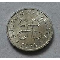1 пенни, Финляндия 1974 г.