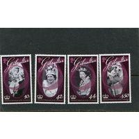 Гибралтар. 60 летие королевы Елизаветы II