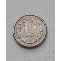 Польша 10 грош 1999