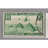 Авиация пирамиды  Airmail - Самолеты над пирамидами Гизы 1933  г   лот 2
