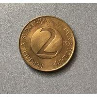 Словения 2 толара 1993 г.,