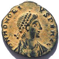 РИМ. ГОНОРИЙ (393-423 г.) КИЗИК. АЕ3.