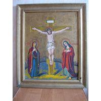 """Чудотворная икона """"Распятие Господа Иисуса Христа"""". Первая четверть 20-го века."""