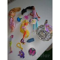 Набор куколок и мелочи для девочек