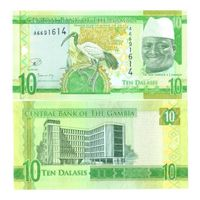 Гамбия. 10 даласи 2015. [UNC]