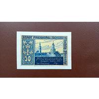 Германия / 50 пфеннигов / 1921 год / Freiburg i Schles / 2