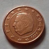 1 евроцент, Бельгия 1999 г.