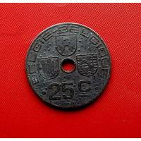 41-04 Бельгия, 25 сантимов 1942 г. Фламандский тип