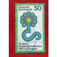 ГДР. ( 1 марка ) 1977 года.