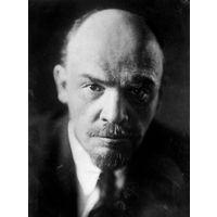 В.И. Ленин. Кабинетный фотопортрет 59 х 49 см (СССР)