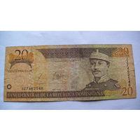 Доминиканская республика, доминикана 20 песо оро 2003г. 7462546 распродажа