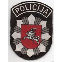 Шеврон полиции Литвы
