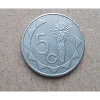 Намибия 5 центов 1993 (Republic of Namibia 5 cents 1993)