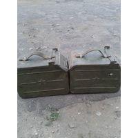 Два ящика от   пулемета ДШК  1938 года.