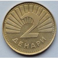 Северная Македония 2 денара. 2001