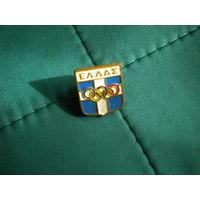 Значок Греция олимпийские игры