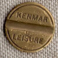 """Жетон / Компания """"KENMAR LEISURE LIMITED"""" / Туристическое снаряжение / Великобритания"""