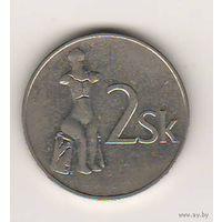 Словакия, 2 koruna, 1993 (*1)