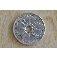 Новая Гвинея 1 шиллинг 1938(серебро)