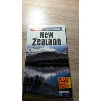 Путеводитель на английском языке New Zealand (с картой)