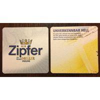 Подставка под пиво Zipfer No 3