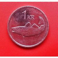 54-11 Исландия, 1 крона 2011 г.