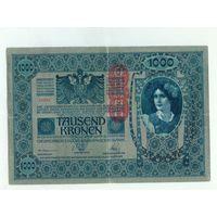 Австрия, 1000 крон 1902 год.