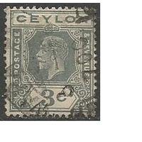 Цейлон. Король Георг V. 1921г. Mi#188.