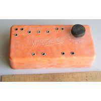 Радиоприемник детекторный КОМСОМОЛЕЦ вид 2 цветной корпус