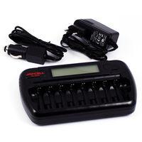 Зарядное устройство JAPCELL BC-800S (8шт AA\AAA)