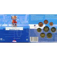 Нидерланды 2005 Официальный Годовой набор Евро 8 монет UNC