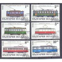 Болгария Трамвай техника