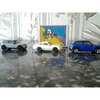 Машинки, 3 шт