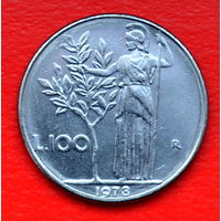 35-37 Италия, 100 лир 1978 г.