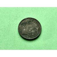1 цент 1942 года